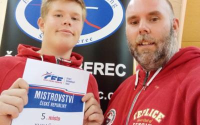 Jakub Kukaň 5. na MČR žáků ve sportovním šermu – Liberec